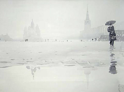 Winter Red Square